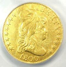 1800 Capped Bust Gold Half Eagle $5 - Certified ANACS XF40 Details - Rare Coin!