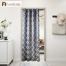 NAPEARL 1 Panel Classic Balcony Decor Door Curtains Kitchen Semi-blackout Drapes