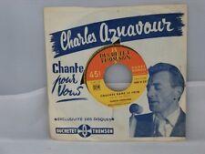 Charles Aznavour – Couchés dans le foin           Ducretet Thomson – 500 V 332