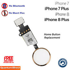 NEW iPhone 7 Plus Complete Home Button Replacement NO Bluetooth Required GOLD