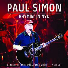 PAUL SIMON New Sealed 2019 LIVE NEW YORK 2000 CONCERT 2 CD SET