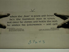 Rare Historical Original VTG WW2 1942 Netherlands Poet Propaganda Poem Photo