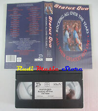 VHS STATUS QUO Rocking all over years greatest hits live UK PMV cd lp dvd (VM6)