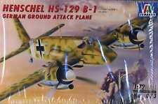 1/72 HS-129 B-1 GROUND ATTACK by ITALERI LUFTWAFFE