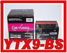 MOTORCYCLE BATTERY YUASA YTX9-BS ORIGINAL e NEW