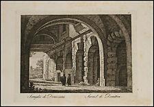 1818c.Inc/Rame.ROMA: SERRAGLIO DI DOMIZIANO. par NIBBY - Parboni-Ruga.
