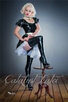 Special chlorinated latex stockings, no messy lube needed unisex for her or him