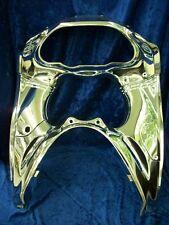 Chrome Gauge Cluster Trim Bezel Inner Cowling Kawasaki ZX11 94 95 96 97 98 99 00