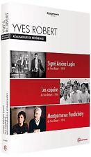 P5621/COFFRET 3 DVD Y ROBERT SIGNE ARSENE LUPIN/LES COPAINS/MONTPARNASSE POND