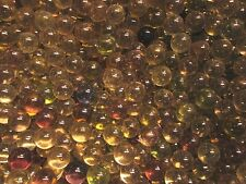 "MARBLES 2 LBS OF 9/16"" + or -MIXED COLOR CLEARIES CHAMPION MARBLES FREE SHIPPING"