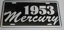 1953 MERCURY METAL LICENSE PLATE MERC MONTEREY MONTCLAIR WAGON CONVERTIBLE 50'S