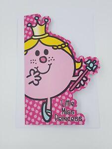 Mr Men Little Miss Princess Pink Birthday Card