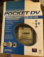Aiptek Digital Video Camcorder.A1 Pocket DV 3100 cf card tripod charger included