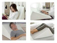 Bed Wedge Pillow 41cm Back Pain Snoring Gerd Acid Reflux Heartburn Indigestion