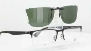 Custom Fit Polarized CLIP-ON Sunglasses For RAY-BAN RB6335 54x17-T RB-6335