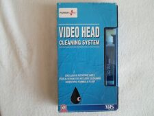 Power Plus Video Head Cleaning System Tape Wet / Dry NEW