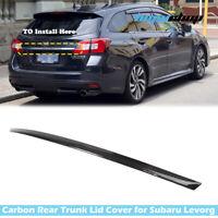 14-19 Fit For Subaru Levorg 5D Wagon Rear Trunk Lid Garnish Cover Trim