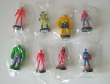 Marvel Heroes - Serie Vollständige 8 Figuren Zaini