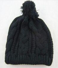 Cappelli da donna neri in misto lana