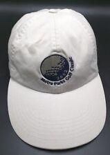 METRO PARKS GOLF CLASSIC (OH) 2002 white adjustable cap / hat