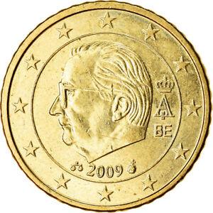 [#765872] Belgique, 50 Euro Cent, 2009, SUP, Laiton, KM:279