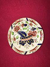 Staffordshire Gaudy Dutch War Bonnet Saucer Perfect Pearlware Ca. 1820