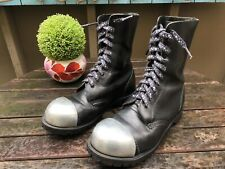 Vintage Getta Grip By Dr Martens Steel Toe Punk Combat Boots Size 5Uk