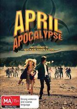 April Apocalypse (DVD, 2014)*Region 4*Terrific Condition*RARE*