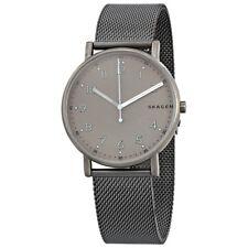 Skagen SKW6354 Signature Grey Dial Stainless Steel Mesh Quartz Watch