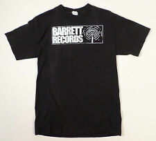 Mens Size S Barrett Records T Shirt, Ann Arbor MI, Black/White Graphics