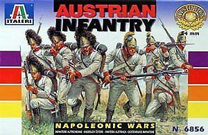 Italeri 6856 Historics Napoleonic Wars Austrian Infantry 54mm Plastic Model Kit