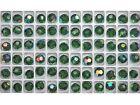 144 Genuine Preciosa Czech Round MC Crystal Beads 8mm Green Turmaline AB coated