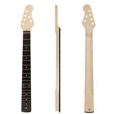Kmise Electric Guitar Neck Canada Maple 22 Fret C Shape Clear Satin Bolt on