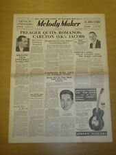 MELODY MAKER 1935 MAY 18 HOWARD JACOBS JOHN HAMMOND LOU PREAGER BIG BAND SWING