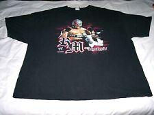 WWE Rey Mysterio Black Shirt Adult 3X-Large 3XL 2007