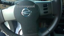 2005 - 2012 Nissan Pathfinder Xterra Frontier Driver LH Wheel Airbag Black 6 Cyl