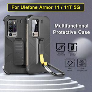 Shockproof Cover For Ulefone Armor 11 5G Original Case With Belt Clip Carabiner