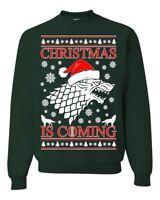 Christmas Is Coming Game Of Thrones Ugly Christmas Sweater Unisex Sweatshirt