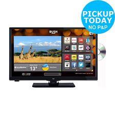 Bush 24 Inch HD Ready 720p Freeview Smart WiFi LED TV/DVD Combi - Black