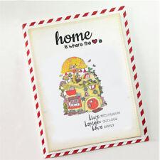 Mushroom House Transparent Stamps For DIY Scrapbooking Album Paper Cards HF