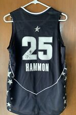 Becky Hammon Signed Autographed WNBA San Antonio Stars Adidas Jersey M Beckett