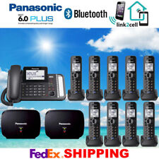 PANASONIC KX-TG9582B 2-LINE 1 CORDED - 9 CORDLESS PHONES - 2 REPEATERS - NEW