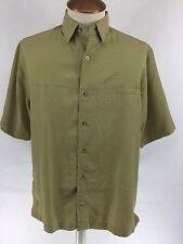 Woolrich Elite Series Tactical Checker Mens Outdoor Short Sleeve Shirt Size M