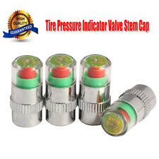 TPMS Car Bike Tire Pressure Valve Stem Cap Sensor Indicator 1.8-5.6BAR x 4 Piece
