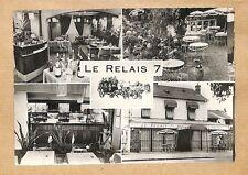 """91 CORBEIL-ESSONNES CARTE POSTALE RESTAURANT """" LE RELAIS NATIONALE 7 """""""