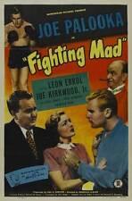 JOE PALOOKA IN FIGHTING MAD Movie POSTER 27x40 Leon Errol Joe Kirkwood Jr. Elyse