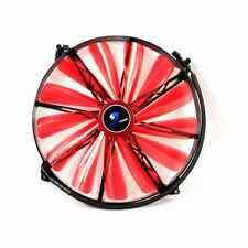 PowerCool Glacier Series 20cm 200mm Red LED Case Fan 3 Pin LED CPU Computer PC