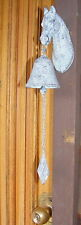 Rustic Solid Cast Iron Hanging Door Bell French Provincial - Horse Head - CI89