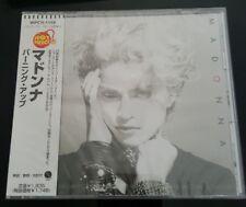 MADONNA RARE JAPAN CD *FIRST ALBUM * ALBUM OBI STRIP WPCR-1155 NEW AND SEALED !