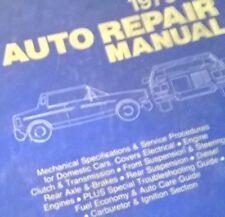 MOTOR'S DOMESTIC  AUTO  Repair Manual  #16747 for Model Years 1977-1984